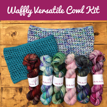 Waffly Versatile Cowl Kit - Choose your Colour
