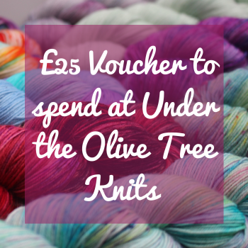 £25 Voucher to spend at Under the Olive Tree Knits