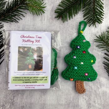 Christmas Tree - Knitting Kit