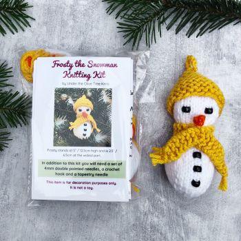 Frosty the Snowman - Knitting Kit