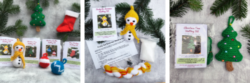 Christmas Knitting Kits