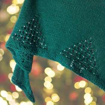 Sparkling Spruce - PDF Knitting Pattern