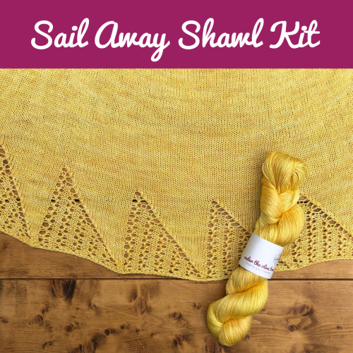 Sail Away Shawl Kit