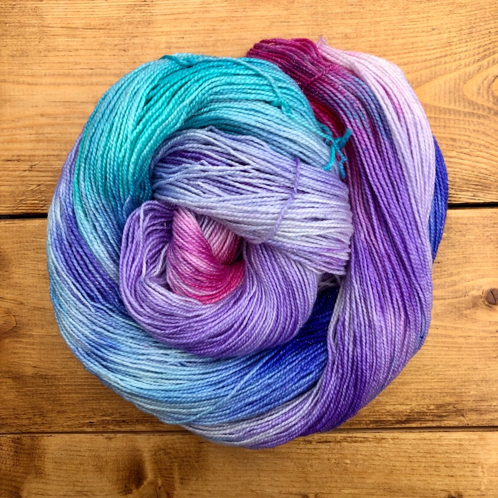 Sparkle Sock / 4ply - Enchanted