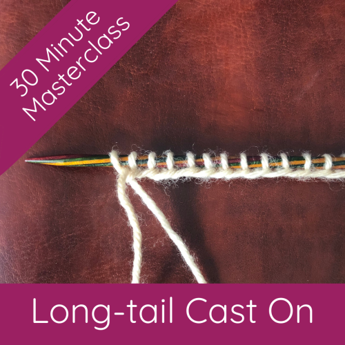30 MM - Long Tail Cast On