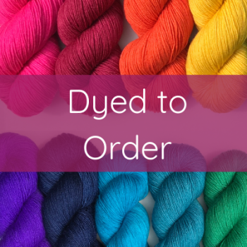 Sock / 4 Ply Yarn - Dyed to Order. Choose Your Base and Colour