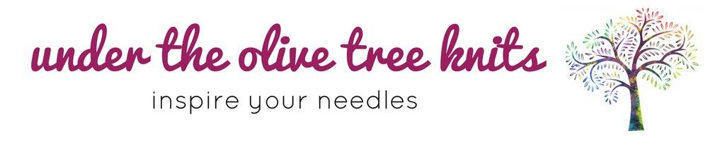 www.undertheolivetreeknits.com, site logo.