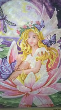 Royal Paris Canvas only Waterlily Fairy