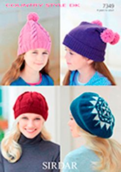 Patterns for hats and Scarves