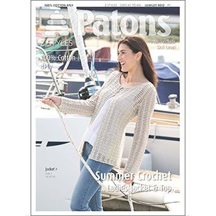 Ladies Crochet 4ply cotton 4012