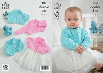 King Cole Baby Double Knitting Pattern