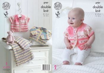 King Cole selection Baby Double Knitting Patterns