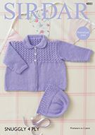 New Baby Patterns From Sirdar 4ply and DK
