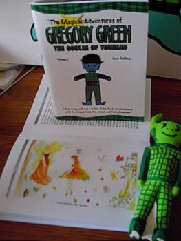 The Magical Adventures Of Gregory Green Book
