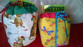 Kiddies complete  Knitting Bags
