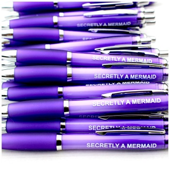 Secretly A Mermaid Purple Pen
