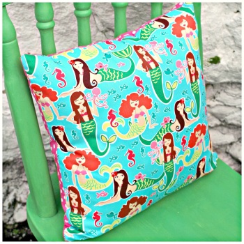 "14"" Mermaid Cushion Cover"