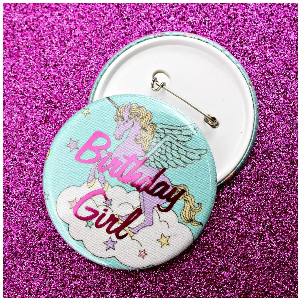 Unicorn Princess Pin Badge