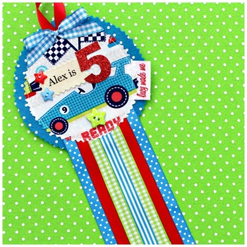 Car Racing Badge £8.00-£12.00