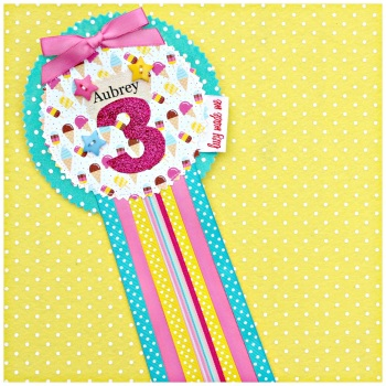 Lolly Ice Cream Badge £8.00-£12.00