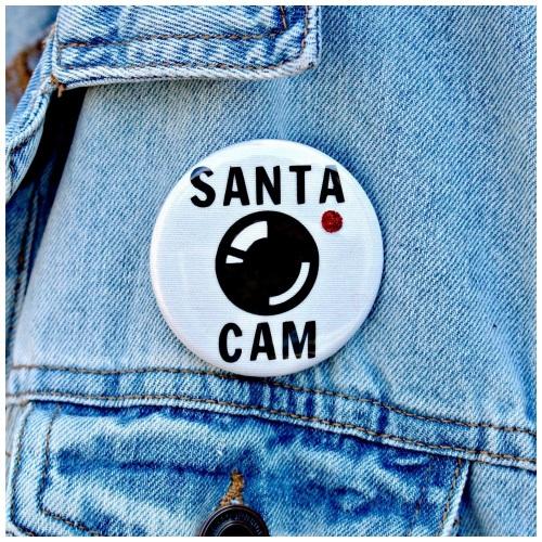 Santa Cam Badge
