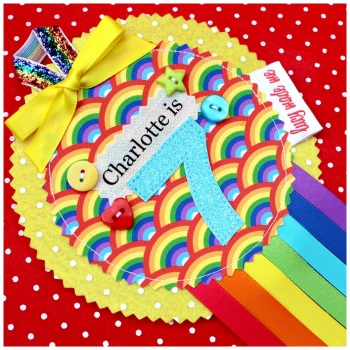 Rainbow Bright Badge £8.00-£12.00