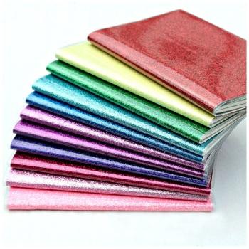 A6 Glossy Glitter Notebook