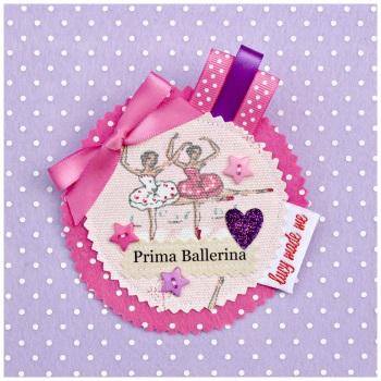 Ballerina Badge £8.00-£12.00