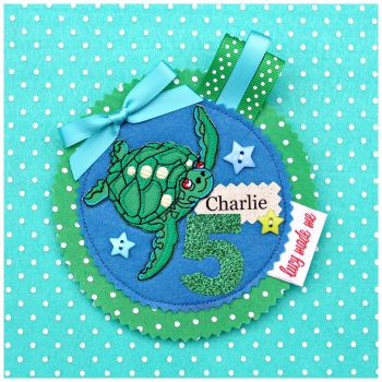 Turtle Badge £10.00-£12.00