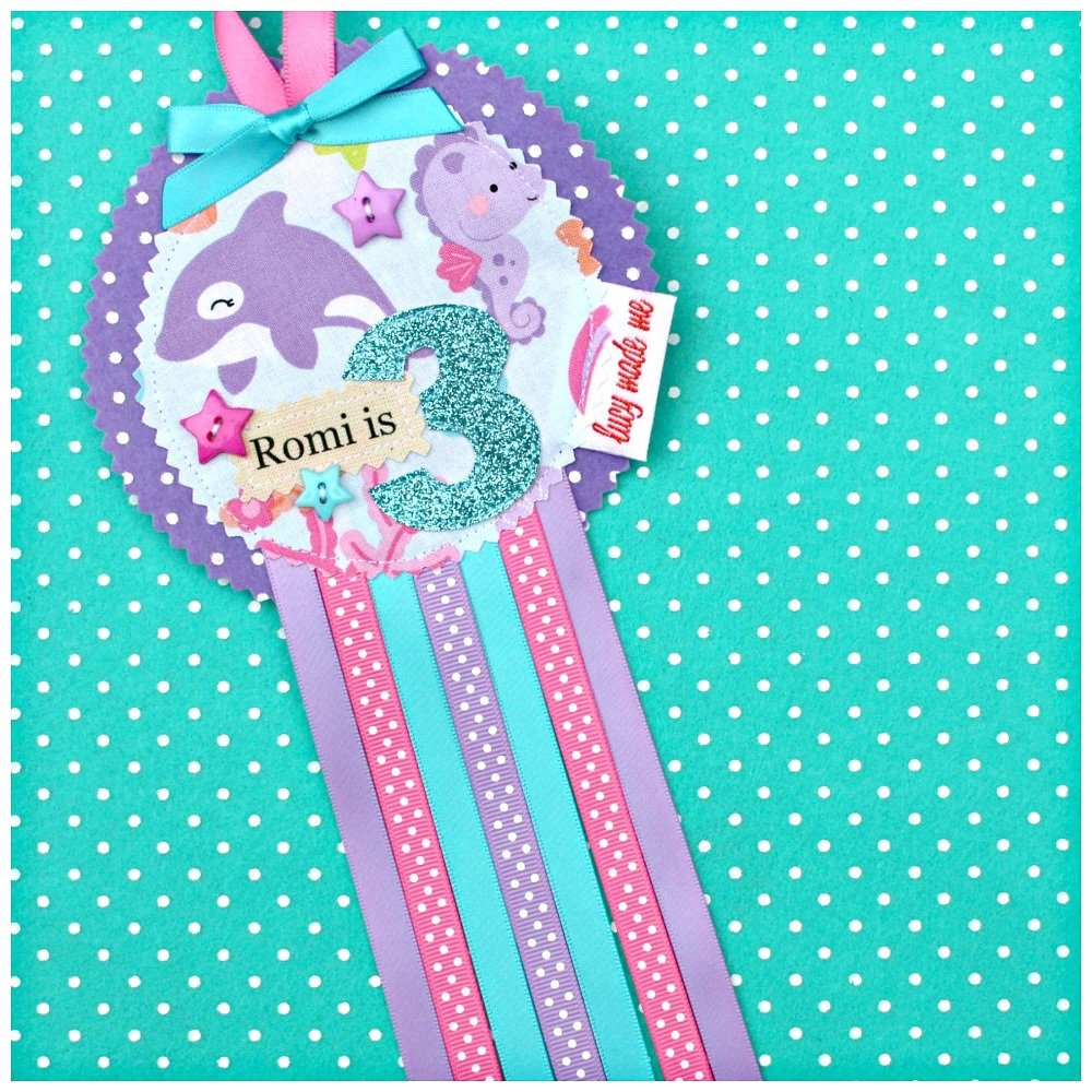 Mermaid Sea Life Badge £8.00-£12.00