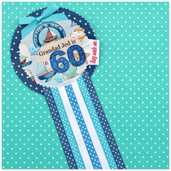 Seaside Beach Badge £8.00-£12.00