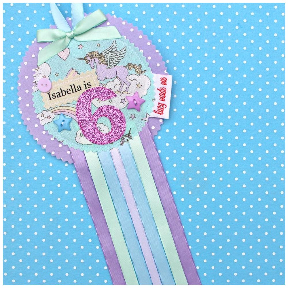 Unicorn Pastel Badge £8.00-£12.00
