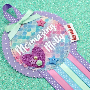 Mermaid Scale Badge £10.00-£12.00