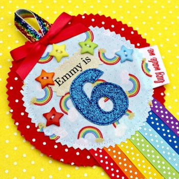 Rainbow Pot of Gold Badge £8.00-£12.00