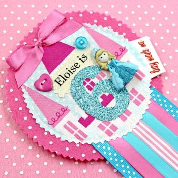 Princess Castle Badge £10.00-£12.00