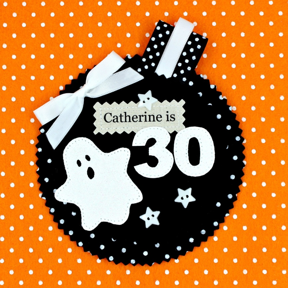 Spooky Ghost Badge £8.00-£12.00