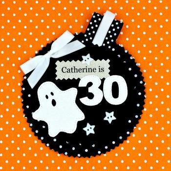Spooky Ghost Badge £8.00-£12.00