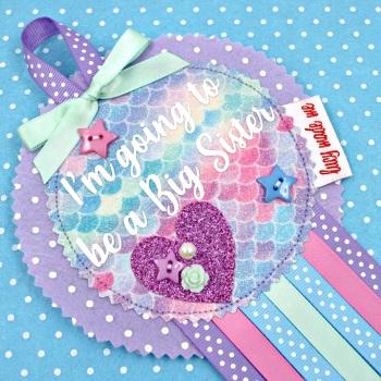 Mermaid Scale Badge £10.00-£12.00