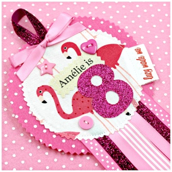 Flamingo Badge £8.00-£12.00