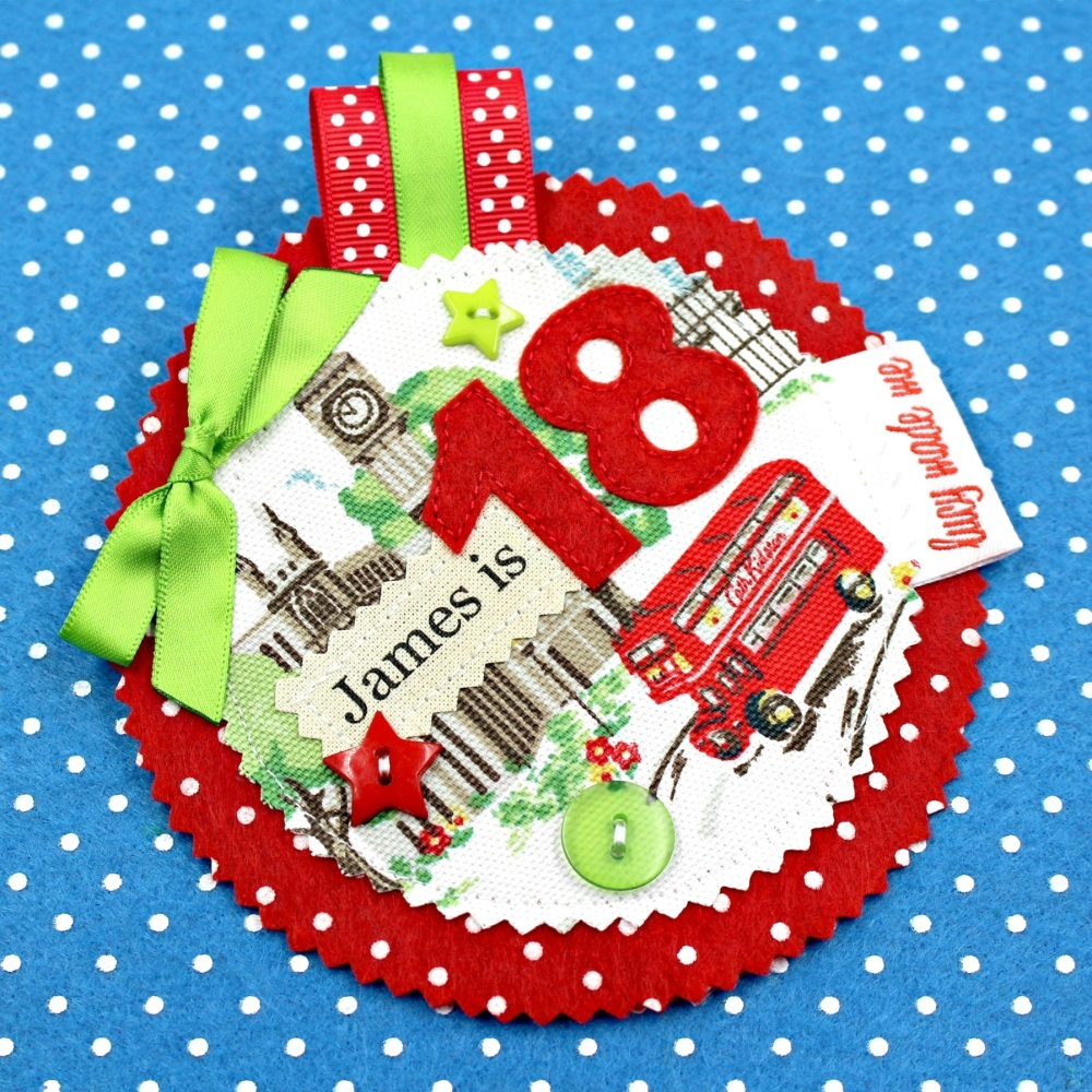 London Bus Badge £8.00-£12.00