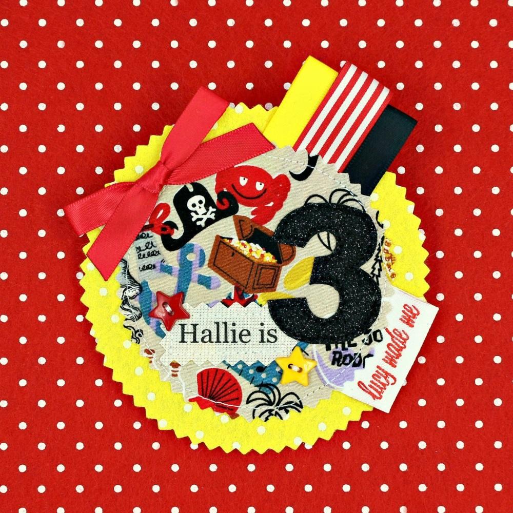 Pirate Badge £8.00-£12.00