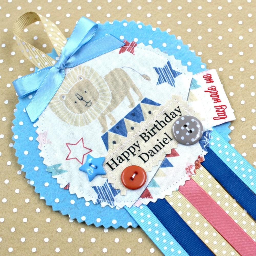 Pastel Circus Badge £8.00-£12.00