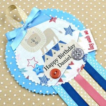Pastel Circus Badge