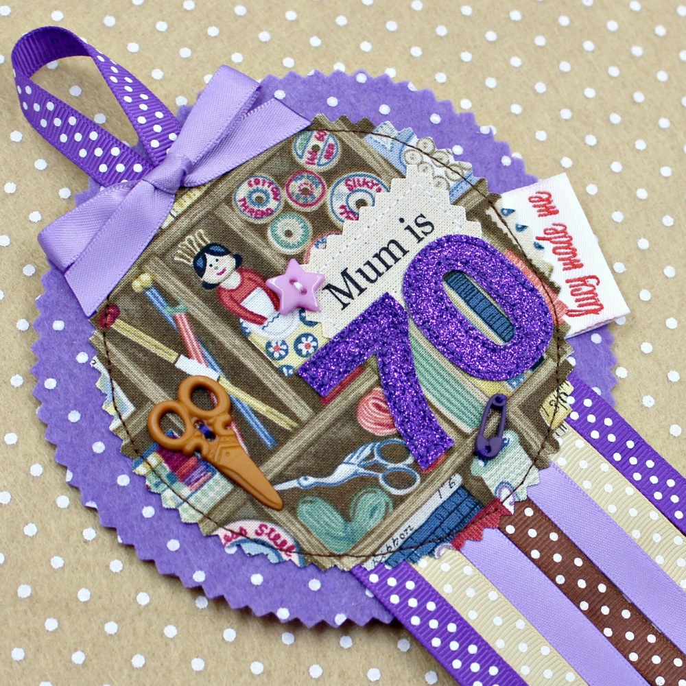 Sewing Craft Badge £8.00-£12.00