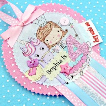 Princess Unicorn Badge