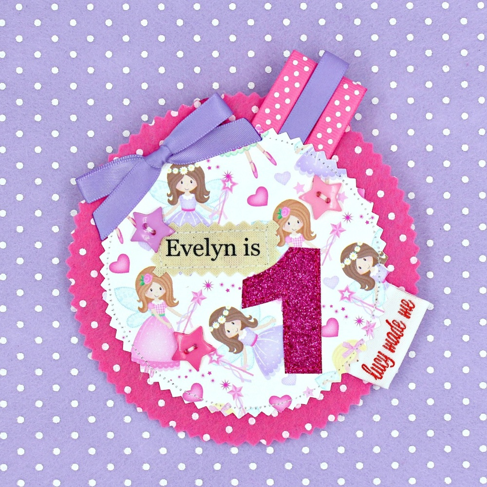Fairy Badge £8.00-£12.00