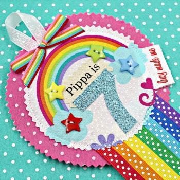 Rainbow Badge £8.00-£12.00