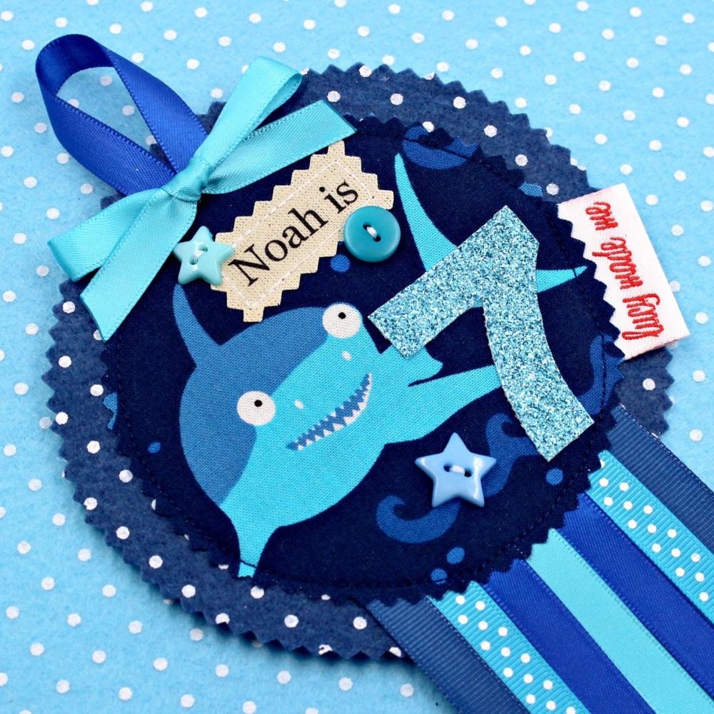 Shark Badge £8.00-£12.00