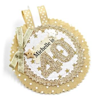 Gold Star Badge