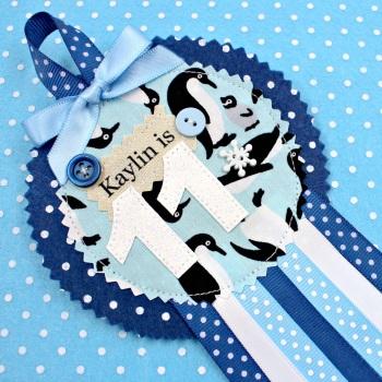 Penguin Animals Badge £8.00-£12.00